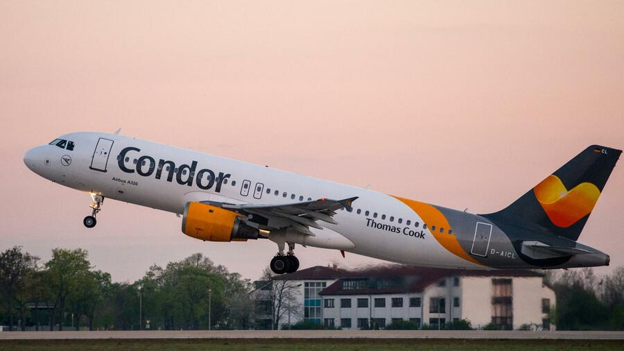 Condor-Maschine aus Düsseldorf nach Bombendrohung auf Kreta gelandet