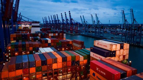 Deutsche Konjunktur: Exporte steigen wie seit Jahren nicht mehr