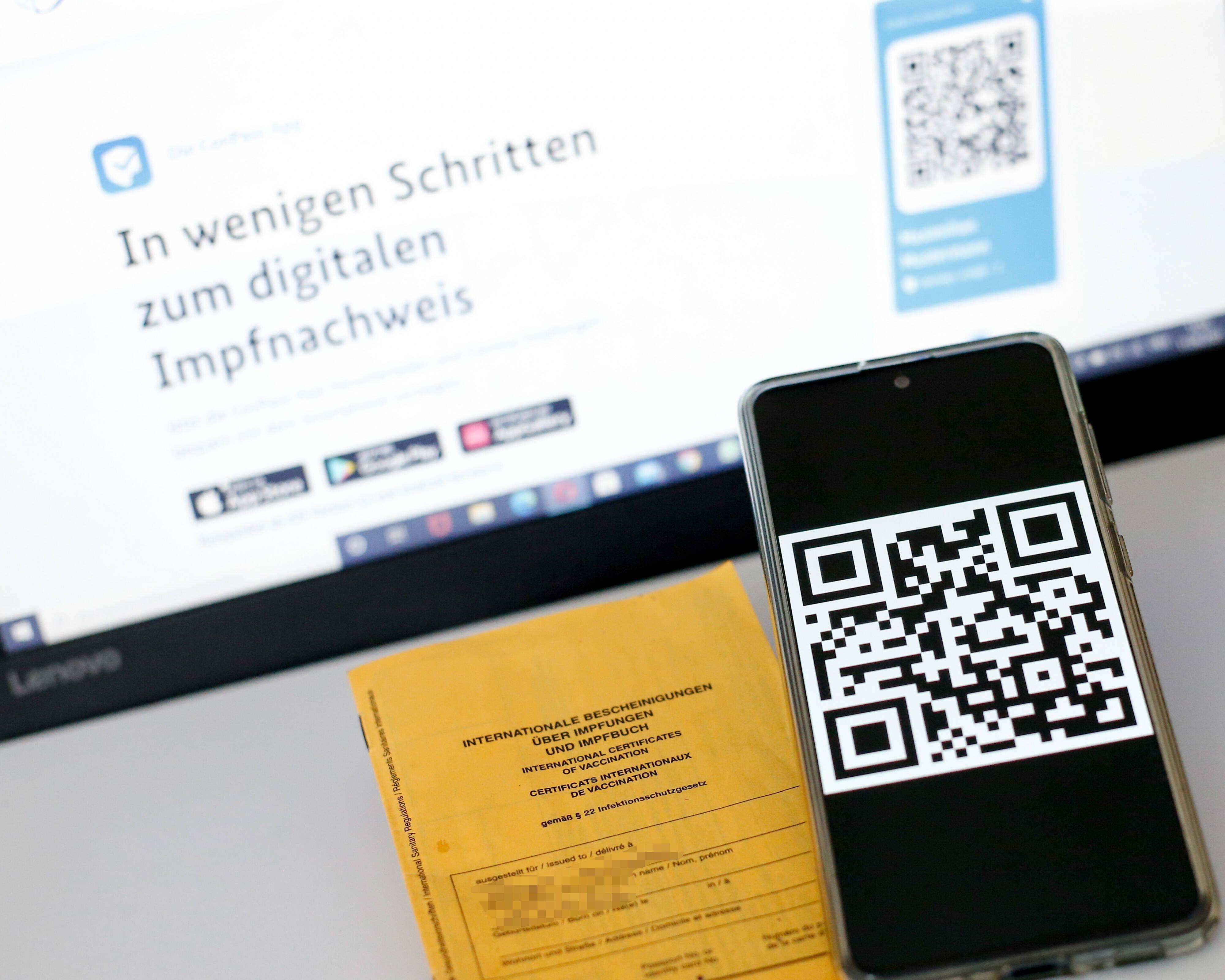 Corona Deutschland Digitaler Impfpass Nicht Einsatzbereit