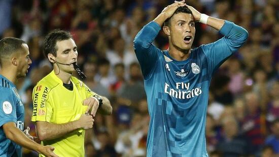 Fußball: Fünf-Spiele-Sperre von Weltfußballer Ronaldo bleibt bestehen