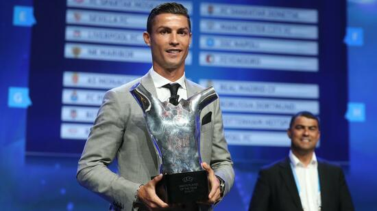 Zum vierten Mal | Messi überflügelt: Ronaldo ist Europas Fußballer des Jahres