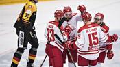 Eishockey: DEB-Team verliert 3:4 bei WM-Gastgeber Dänemark