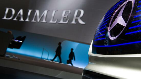 Daimler weist Vorwürfe der Abgasmanipulation zurück
