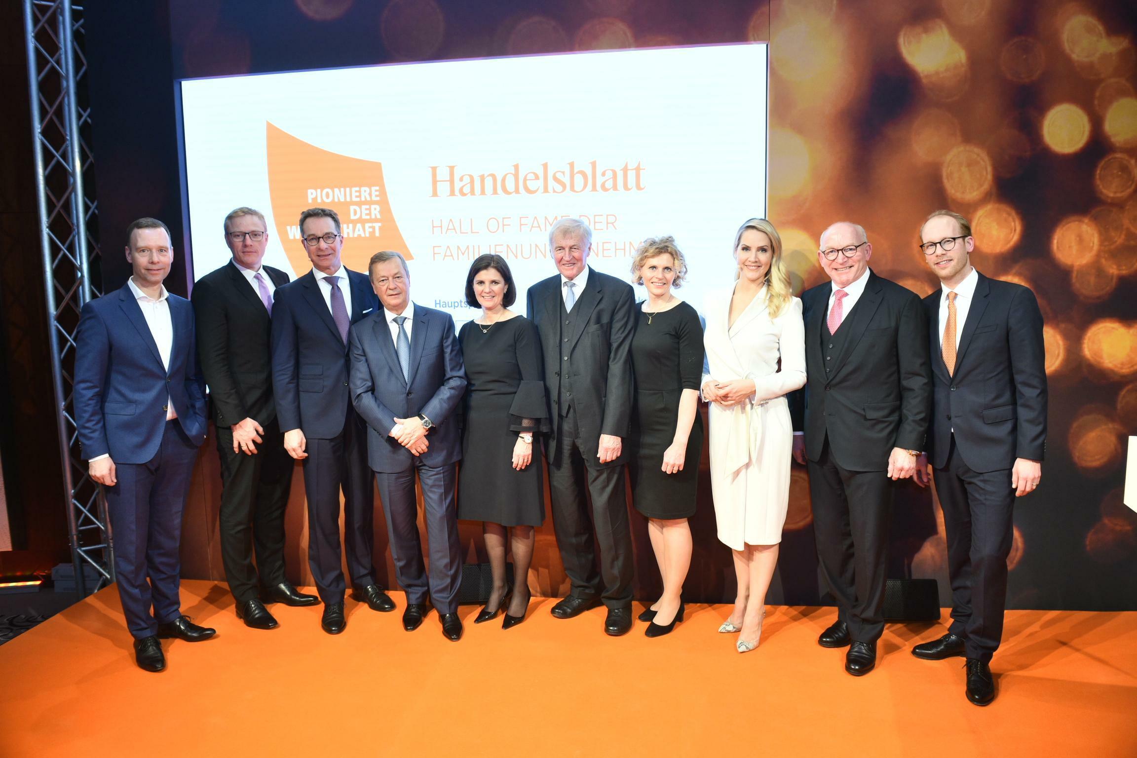 Hall of Fame: Die Pioniere der deutschen Wirtschaft