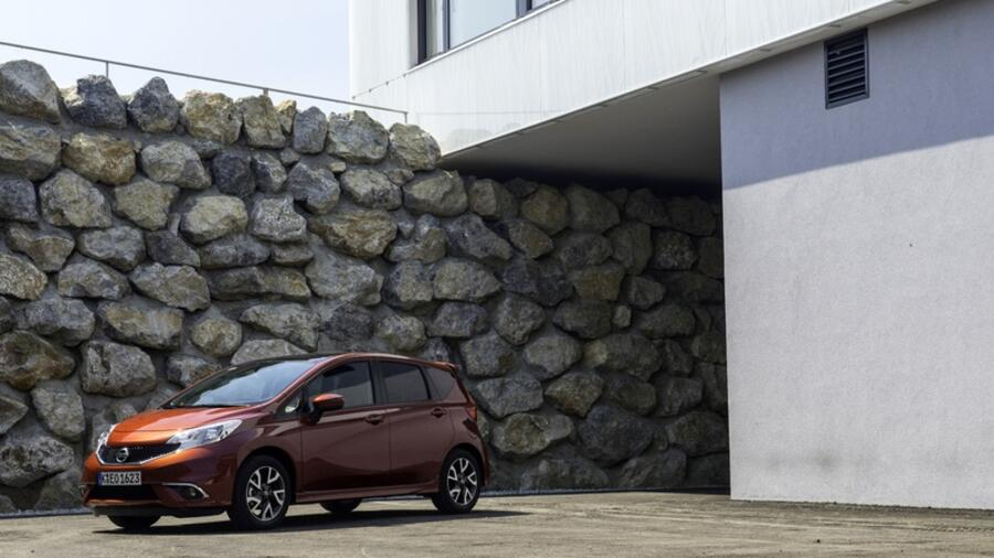 Nissan note im test luftig aber langsam