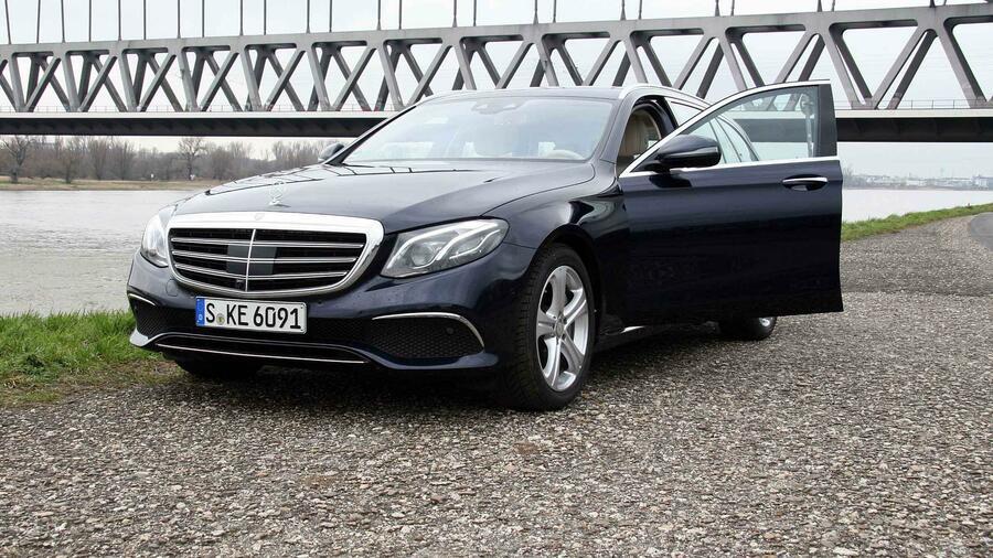 Mercedes E Klasse T Modell 220d Im Handelsblatt Test Fazit Und
