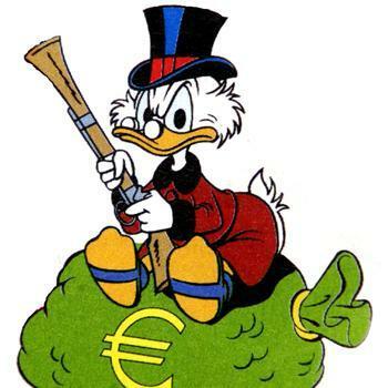 Neuer Finanzberater Dagobert Duck lsst gren
