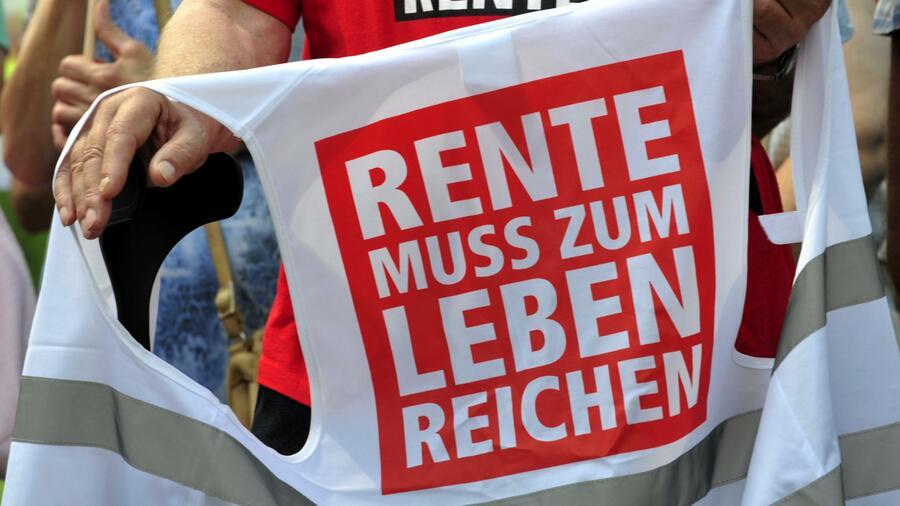 Deutsche machen sich stärker als andere Europäer Sorgen um ihre Rente