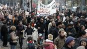 Tausende Hamburger Bürger haben am Wochenende für sozialverträgliche Mieten demonstriert. Quelle: dpa