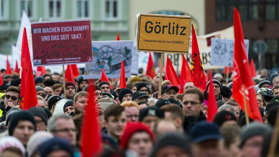Schließung von Siemens-Werk in Görlitz vom Tisch
