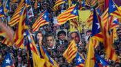 Spanien: Hunderttausende demonstrieren für katalanische Separatistenführer