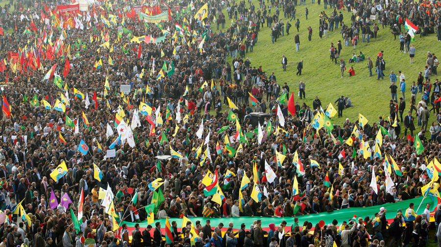 Kurden Demo Berlin Heute