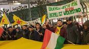 Proteste in Deutschland: Kurden demonstrieren gegen Militäroffensive in Syrien