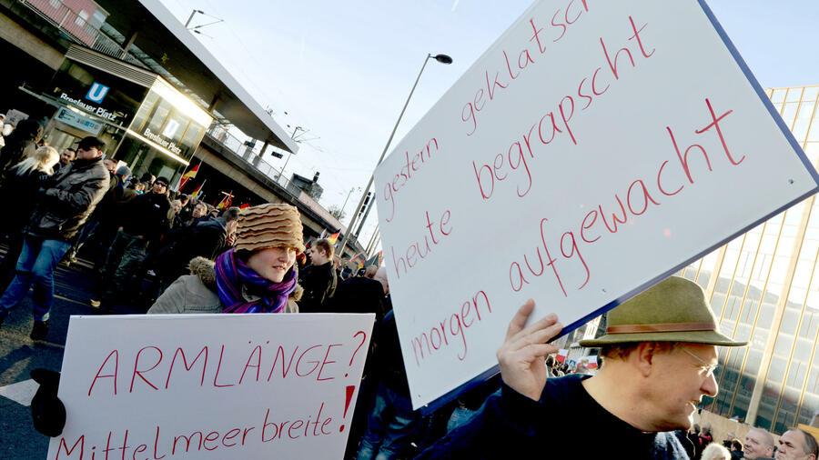 Proteste In Köln