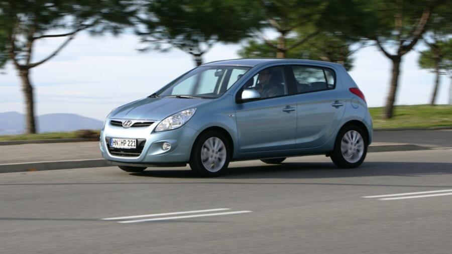 gebrauchtwagen-check: hyundai i20 : der kleine ist nur schwer zu bremsen