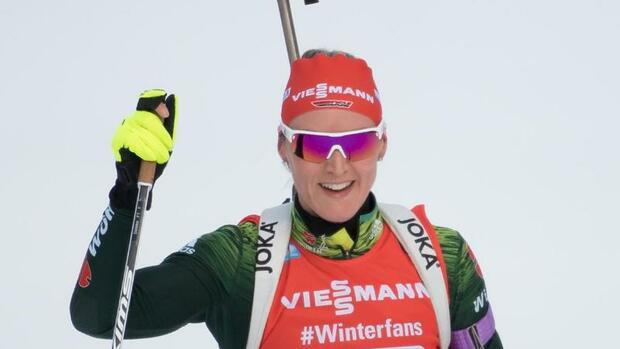 Biathlon: Deutsche Biathleten mit Formanstieg vor WM