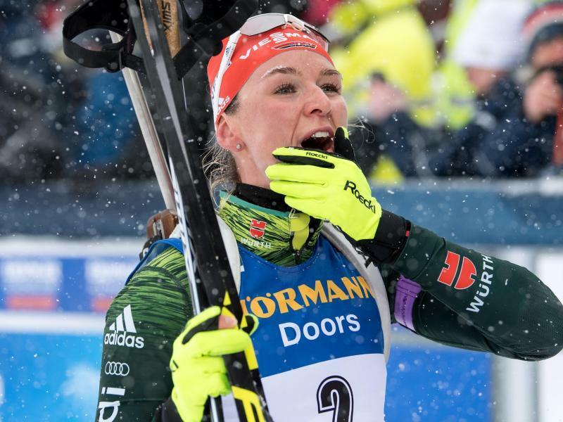 Biathlon-WeltmeisterinHerrmann mit Comeback im Langlauf