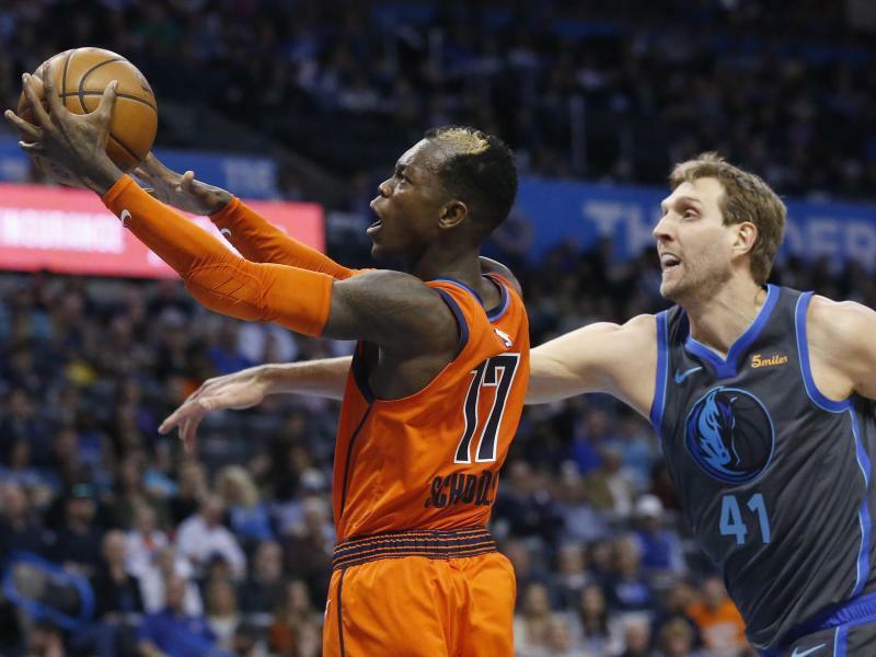 NBA: Nowitzki gewinnt bei Schröders Oklahoma City