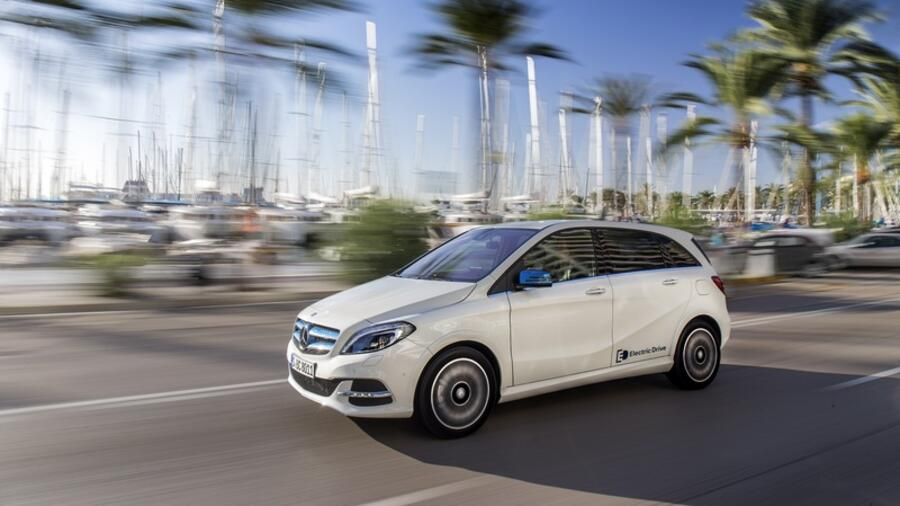 Mercedes B Klasse Electric Drive Gut Getarnte Alternative