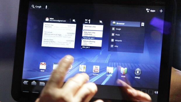 motorola xoom im test schnelles 10 zoll tablet mit android 3 0. Black Bedroom Furniture Sets. Home Design Ideas