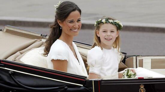 London Kates kleine Schwester: Pippa Middleton feiert Hochzeit