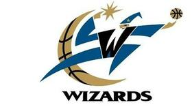 Der Klub aus Washington trägt seit 1997 den Beinamen Wizards. Foto: NBA Quelle: SID