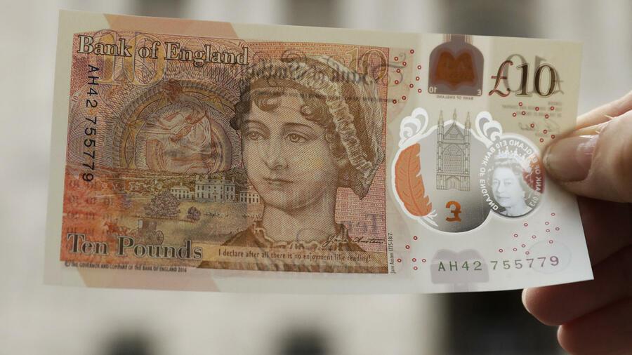 Bank of England bringt neuen Zehn-Pfund-Schein in Umlauf