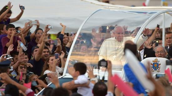 Der Papst in Paraguay