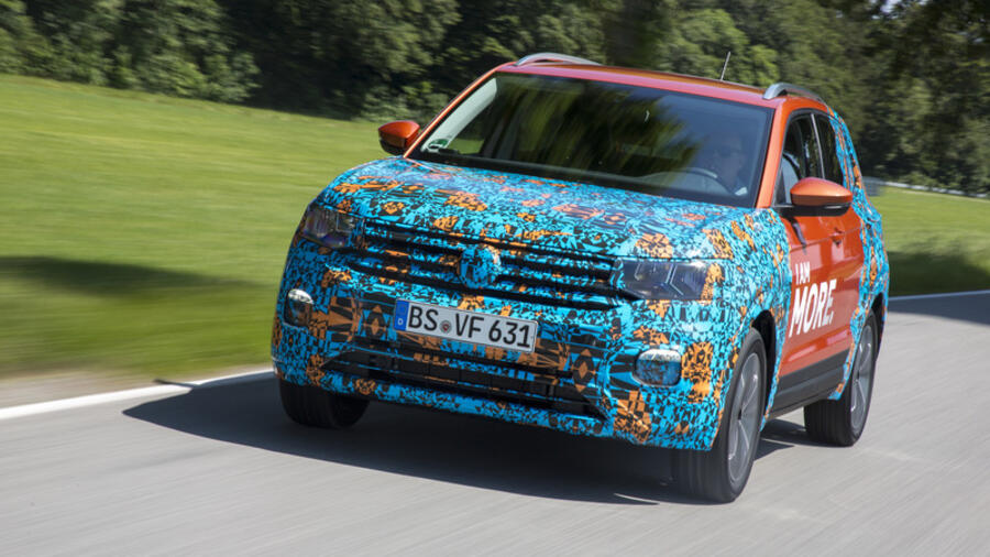 VW: Ein Mini-SUV namens T-Cross Quelle: vw