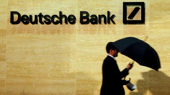 Branchenprimus in Not Deutsche-Bank-Aktie erstmals unter zehn Euro