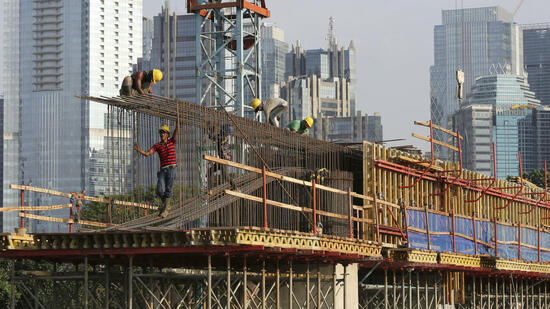 Auftragsbücher prall gefüllt: Baubranche freut sich über Umsatzsprung
