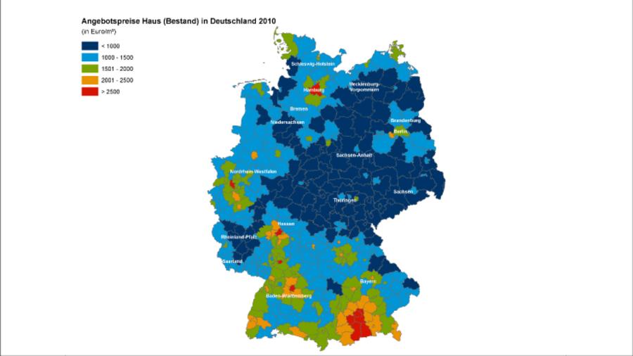 immobilienpreise die besten lagen deutschlands. Black Bedroom Furniture Sets. Home Design Ideas