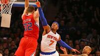 Die Clippers gewinnen in New York Quelle: SID
