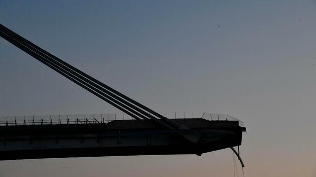 Weiterer Toter nach Brückeneinsturz in Genua