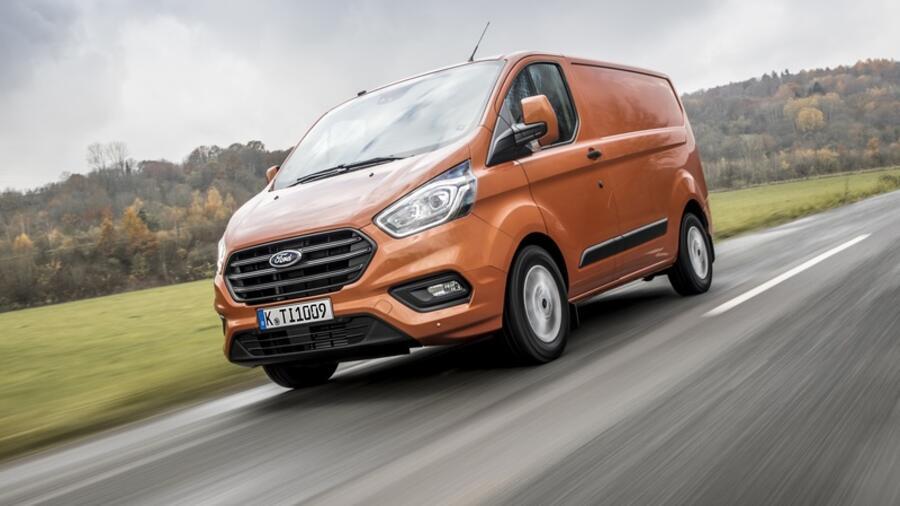 Fahrbericht: Ford Transit Custom : Jetzt mit Assistenten für die ...