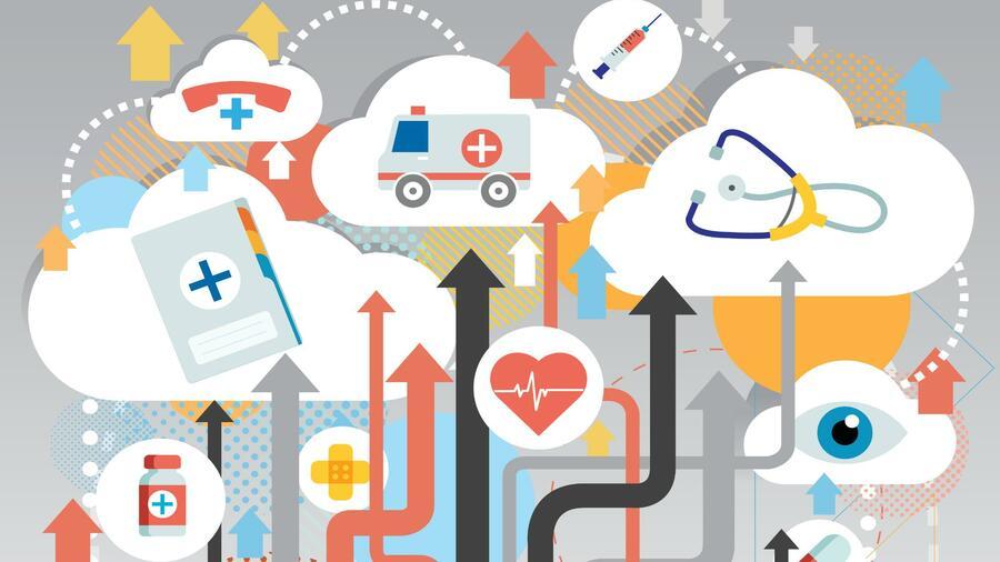 Digital Health Dr Med Robot Bittet Zur Sprechstunde
