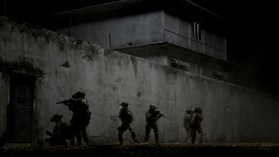 "US-Elite-Soldaten im Film ""Zero Dark Thirty"". Quelle: dapd"