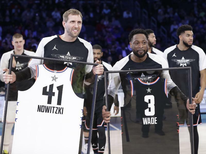Nowitzki begeistert mit Kurzauftritt bei Allstar-Game