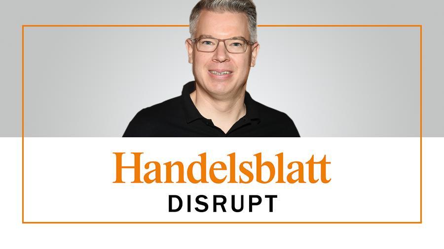 Frank Thelen beim Podcast Handelsblatt Disrupt