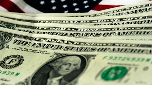 US-amerikanische Geldscheine. Sogar die Parität der US-Währung zum