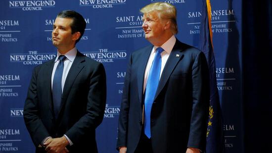 Präsident Trump soll Erklärung seines Sohnes diktiert haben