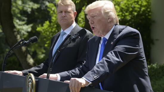 Trump bekennt sich zur Beistandspflicht der Nato