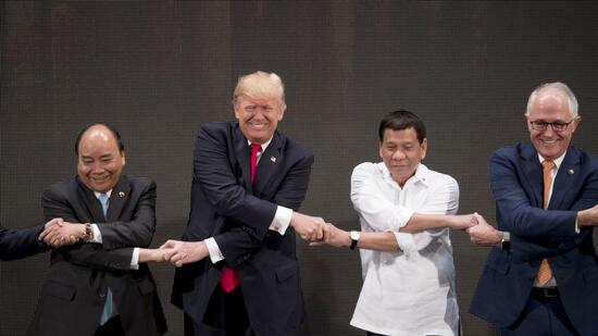Trump will im Seestreit zwischen Philippinen und China vermitteln