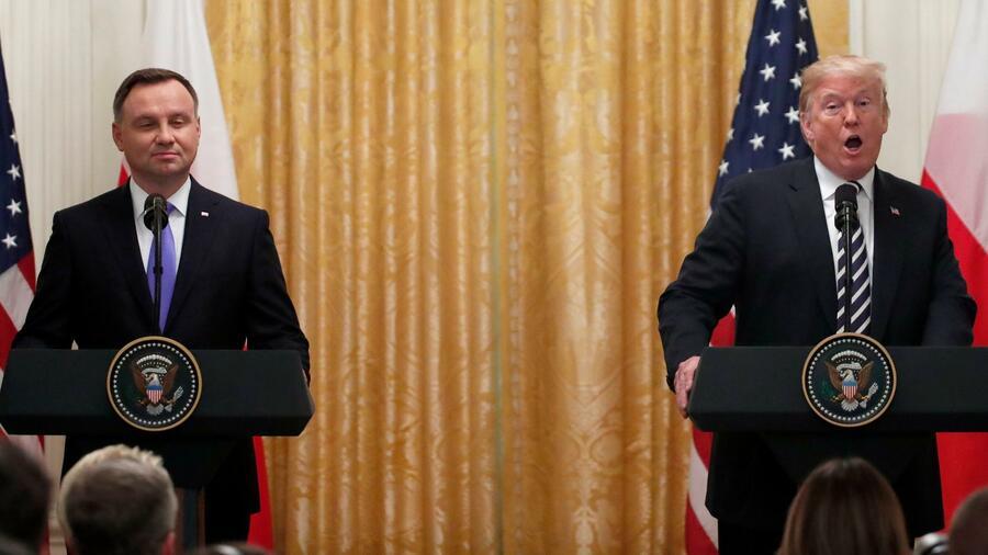 Trump übt erneut Kritik an Deutschland wegen Nordstream 2