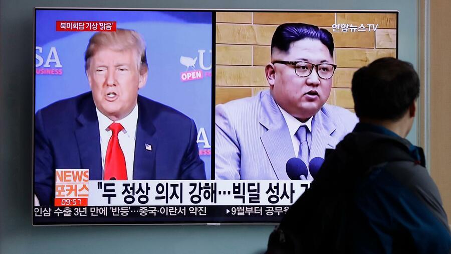 Das historische Treffen könnte noch scheitern. Quelle AP