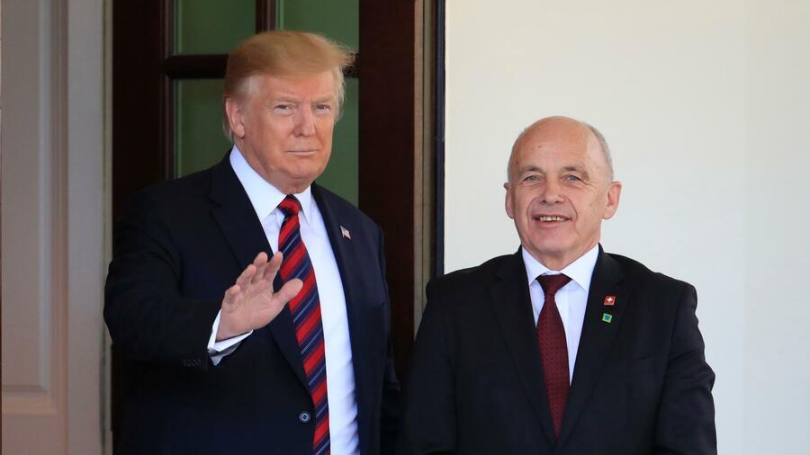 Trump soll offen für Freihandelsabkommen mit der Schweiz sein