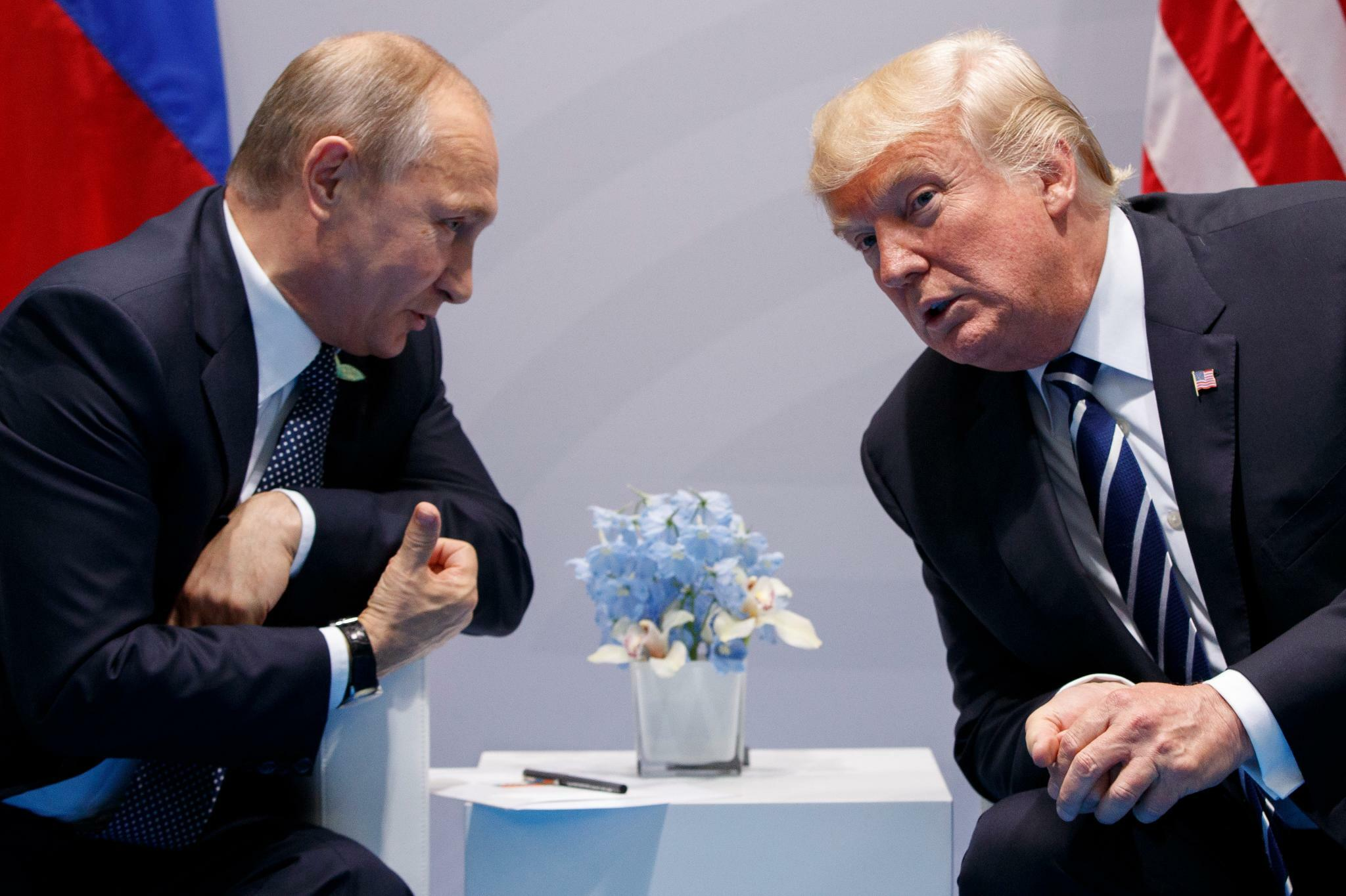 Trump will beim G20-Gipfel auch Putin treffen