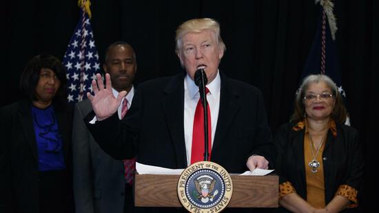 Kritik an Trumps Äußerungen zu Antisemitismus