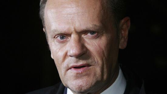 Tusk sagte zu Flugzeugkatastrophe von Smolensk aus