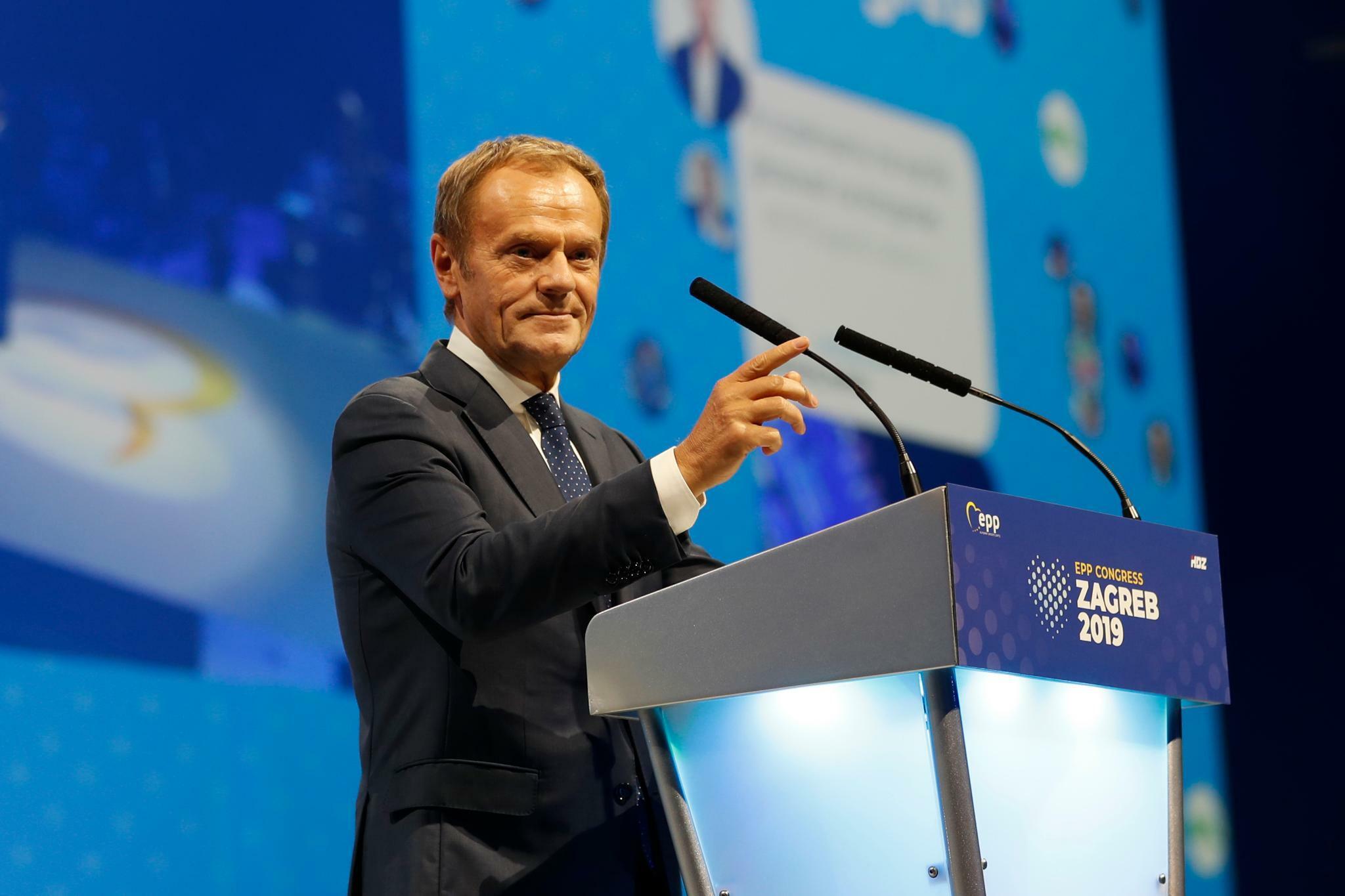Tusk wird Chef der Europäischen Volkspartei
